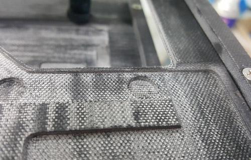 glass fiber fabric structure